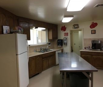 Mobil Country Club Kitchen