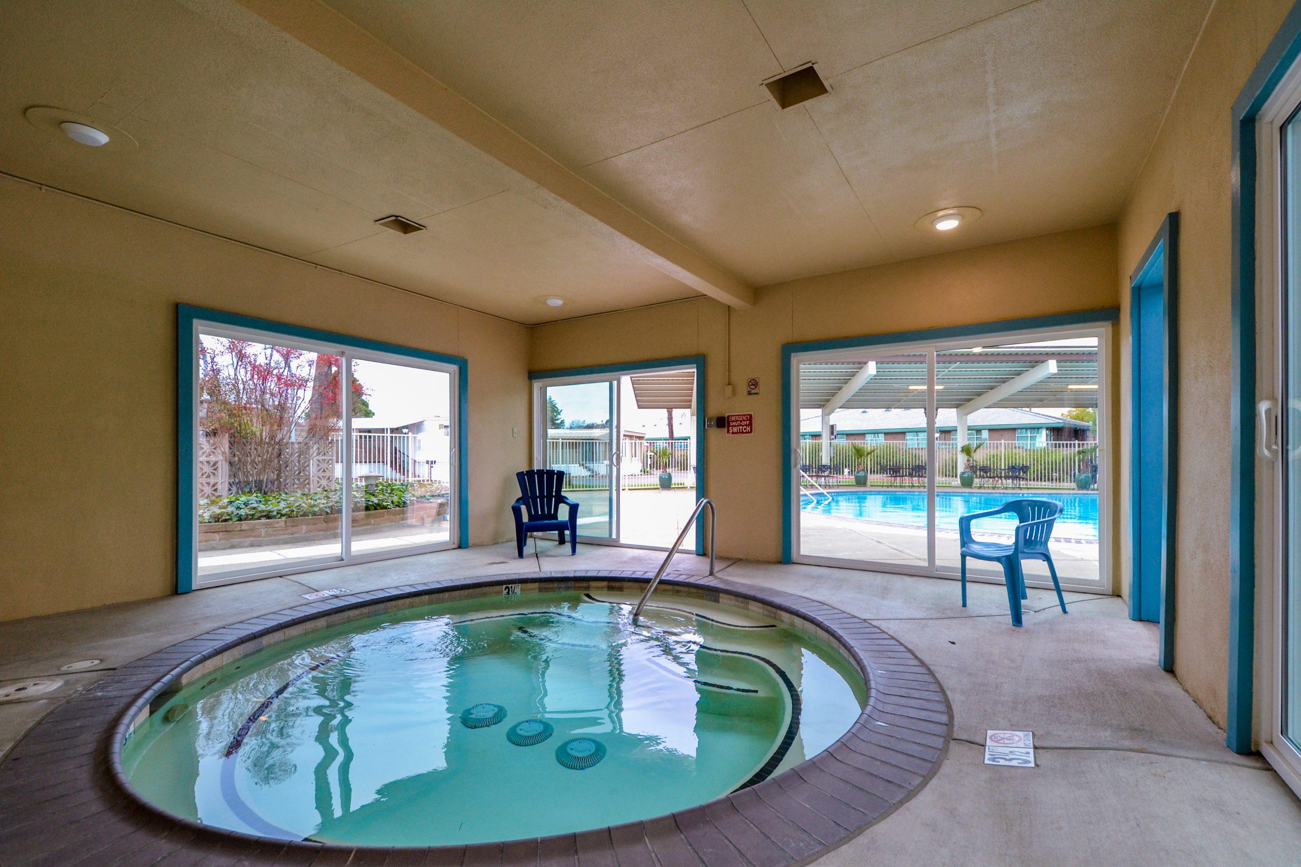 community indoor Pool area